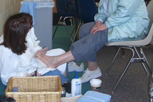 Senior foot care