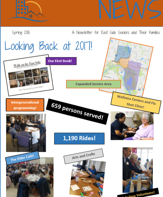 Spring 2018 Newsletter Out Now!