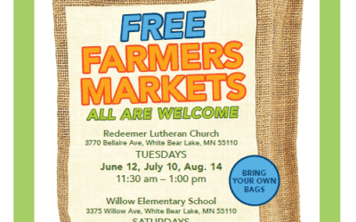 Free Farmers Markets in White Bear Lake