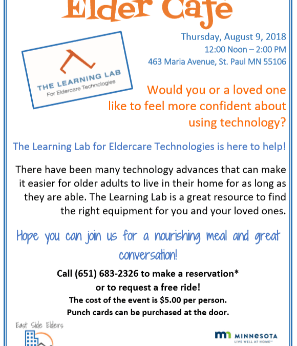 August Elder Cafe – The Learning Lab