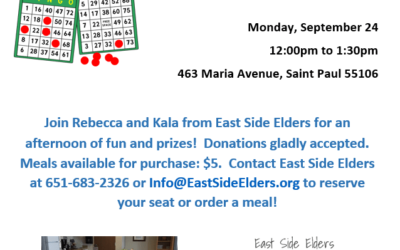 Bingo with East Side Elders