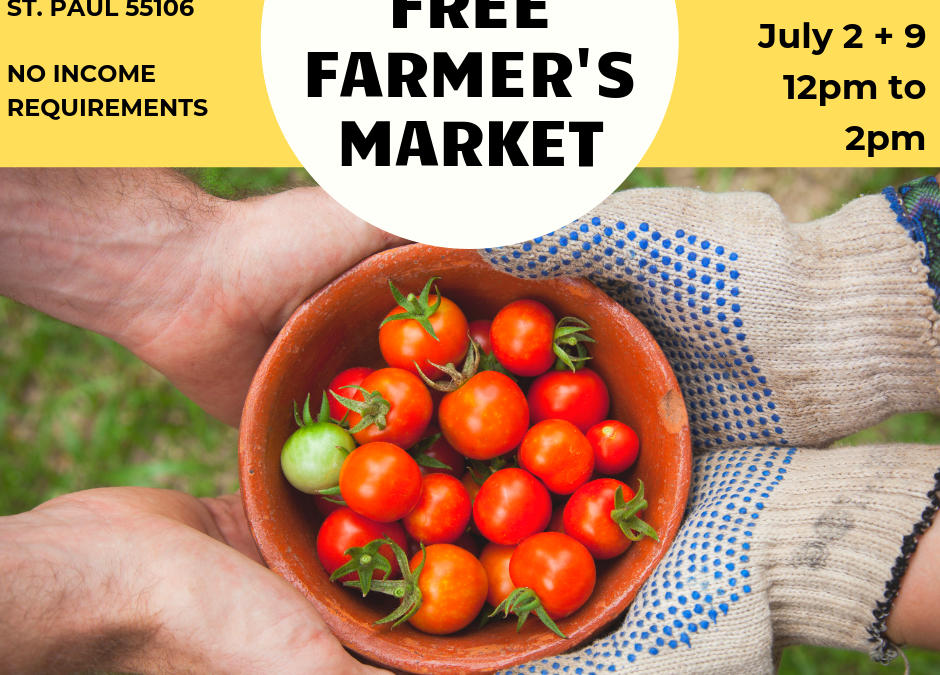 Free Farmer's Market Volunteer – Shifts Available!