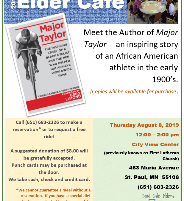 August Elder Cafe: Major Taylor