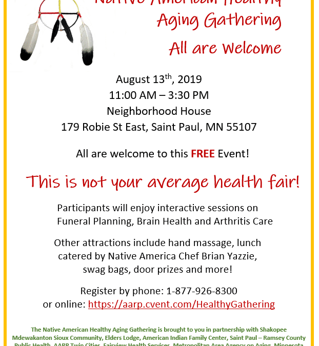 Native American Healthy Aging Gathering