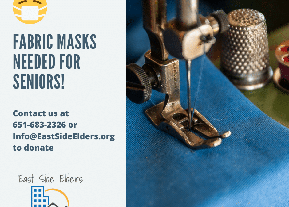 Sew Masks for Seniors