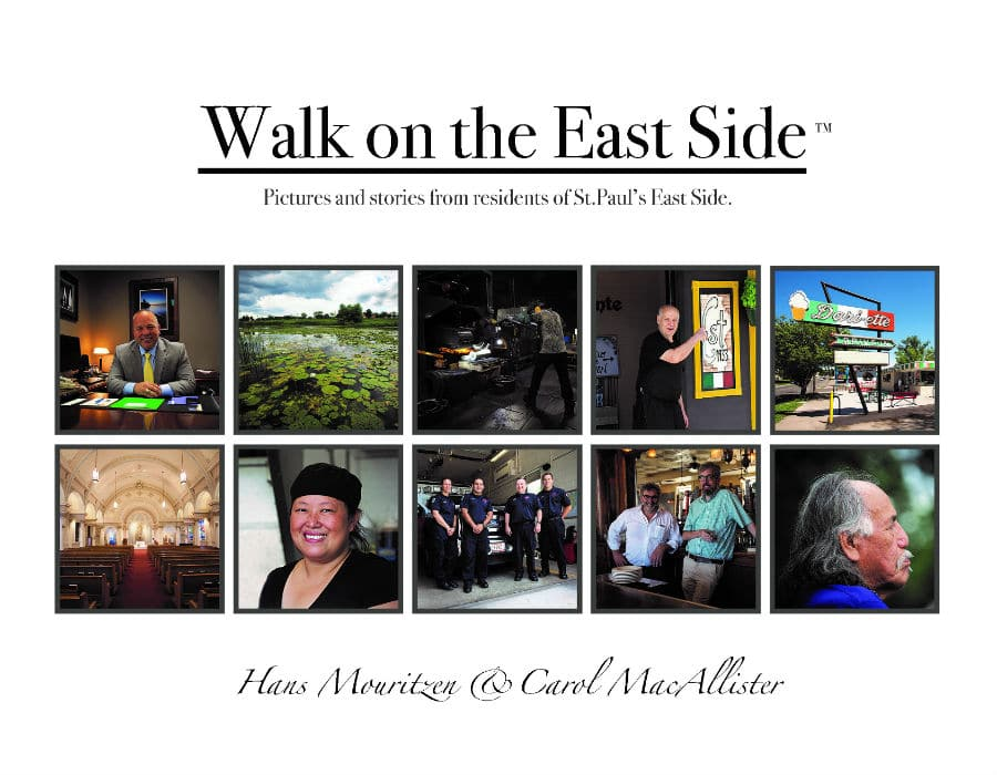 "Front page of the book ""Walk on the East Side"""