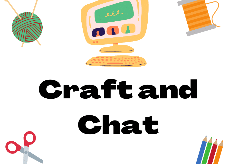 Craft and Chat Meeting for Seniors on March 24th