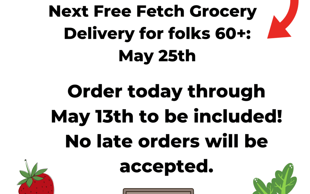 Free Groceries for Seniors May 25