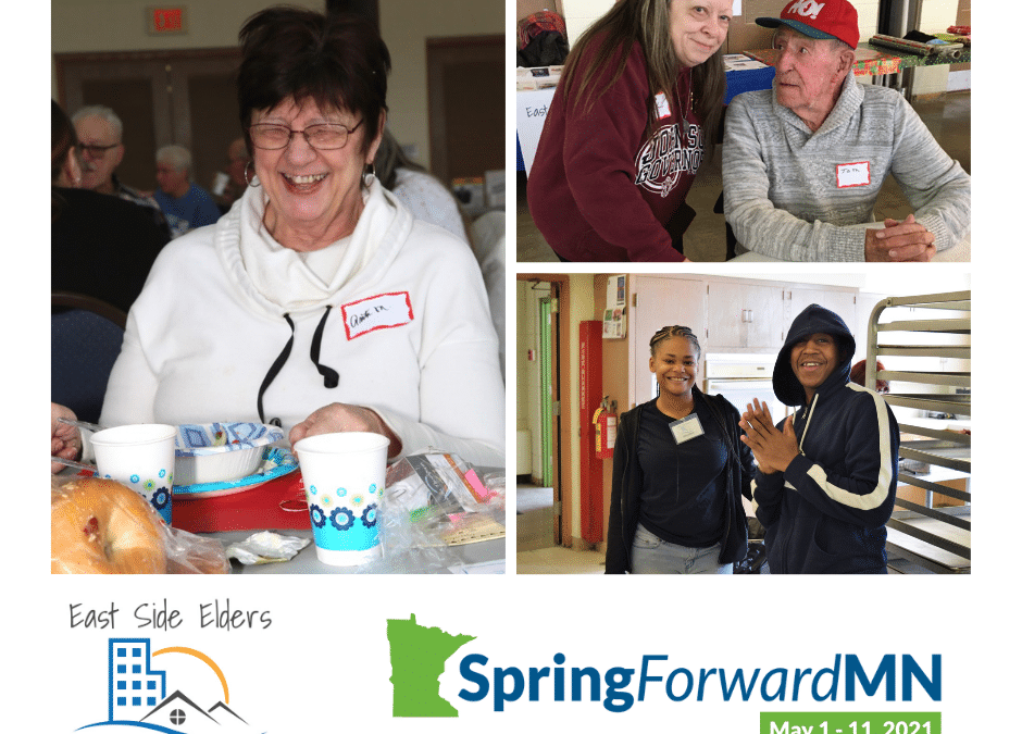 Spring Forward Giving with East Side Elders!