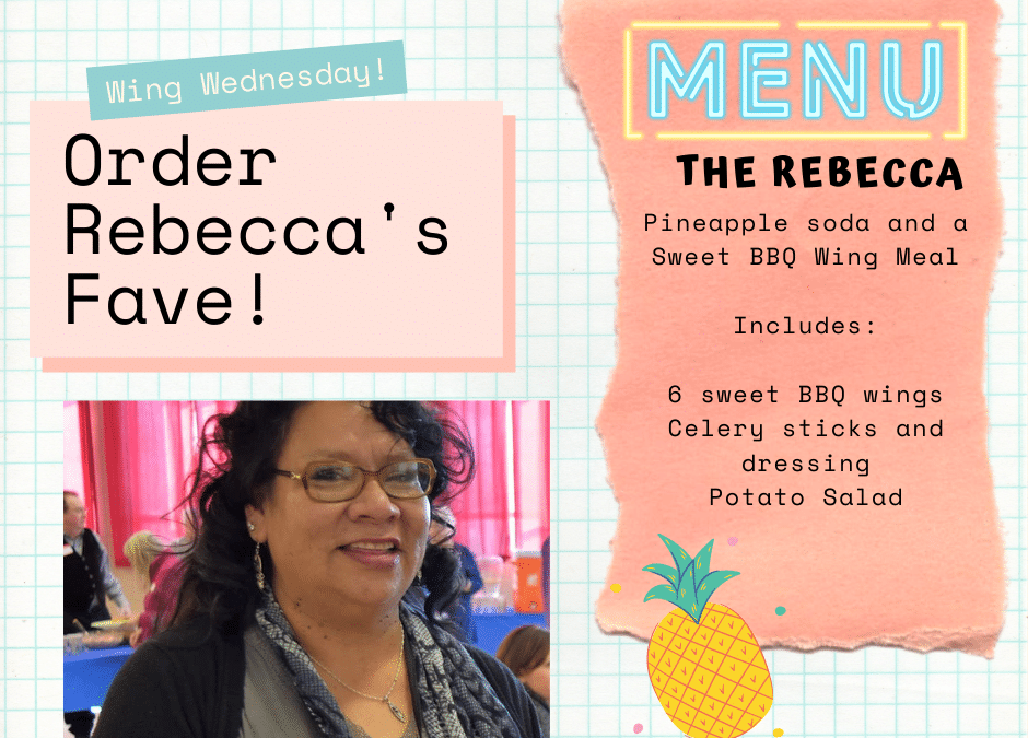 Order Rebecca's Fave in our Wing Fundraiser