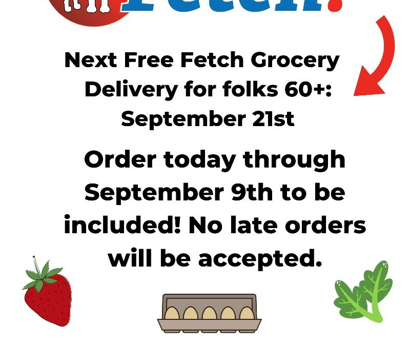Free Grocery Distribution – September 21st